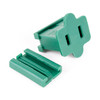 Female Slide-On Inline Plug - Green