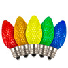 C7 LED 5-Color Replacement / Retrofit Multi Pack - Box of 25 Bulbs - (Dimmable)