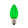 Green C7 LED Replacement Bulb - (Dimmable)