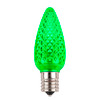 Green C9 SMD LED Replacement Bulb