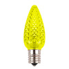 Yellow C9 SMD LED Replacement Bulb
