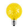 Yellow Unlit SMD G40 LED  Replacement / Retrofit Bulbs (dimmable)-  C7 Base