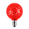 Red Unlit SMD G40 LED  Replacement / Retrofit Bulbs (dimmable)-  C7 Base