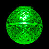 Green Lit SMD G40 LED  Replacement / Retrofit Bulbs (dimmable)-  C7 Base