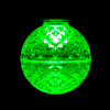 Green Lit SMD G50 LED Replacement / Retrofit Bulb (dimmable)