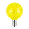 Yellow Unlit SMD G50 LED Replacement / Retrofit Bulb (dimmable)