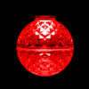 Red Lit SMD G50 LED Replacement / Retrofit Bulb (dimmable)