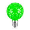 G50 LED Replacement / RetrofitBulbs (dimmable)- 5-Multi Color Pack of 25