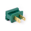 UL Male Slide-On End Connector-Green