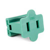 UL Female Slide-On End Connector-Green
