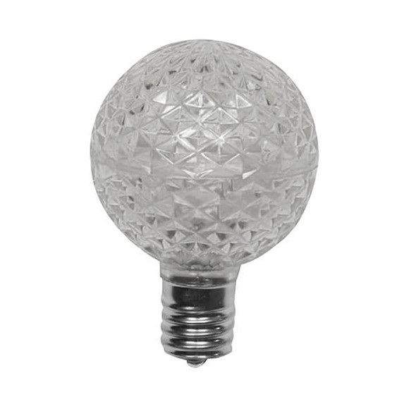 Cool White G50 LED Replacement Bulbs (Dimmable)