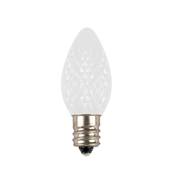C7 LED Replacement / Retrofit Bulbs (Dimmable) - Extra Cool White