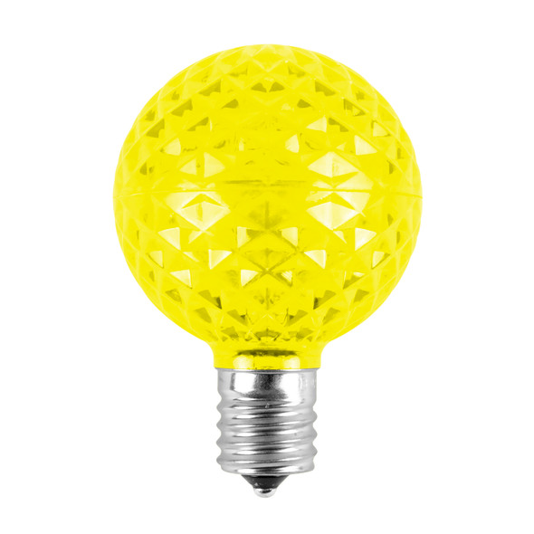 Yellow G50 LED Replacement / RetrofitBulb (dimmable)