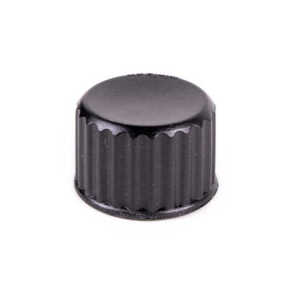 Replacement Waterproof Endcaps for LED Cascading Light Tubes - Black