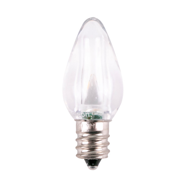 Warm White Unlit C7 SMD Smooth Clear LED Replacement / Retrofit Bulb