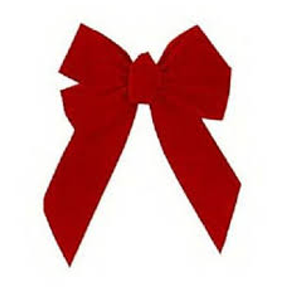 Small Red Velvet Bow