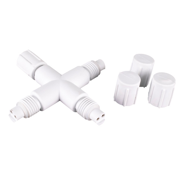 X Connector - White