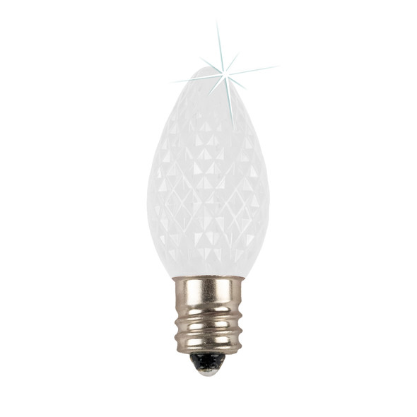 Cool White C7 SMD LED Twinkle Replacement Bulb