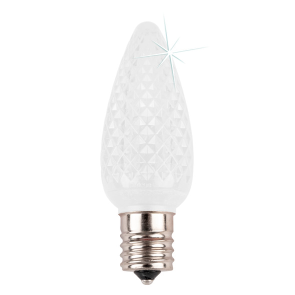 Cool White C9 SMD LED Twinkle Replacement Bulb