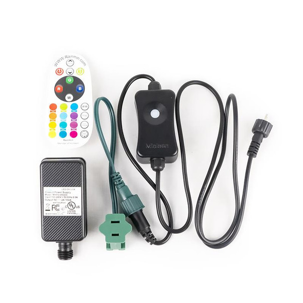 C7 RGB Remote Control Color Changing Power Controller
