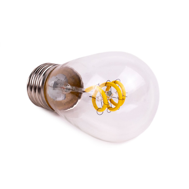 S14 LED Bulb - Warm White - E26 Base - 2W GLASS