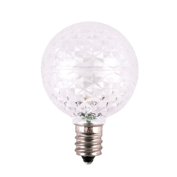 Cool White SMD G40 LED Replacement Bulbs (dimmable) - C7 Base