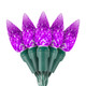 "Purple C6 ""Strawberry"" LED Lights - Premium Grade - 70 Light Count"