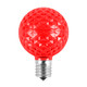 Red Unlit SMD G50 LED Replacement / Retrofit Bulb (dimmable)
