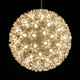 Warm White Twinkle LED Starlight Sphere