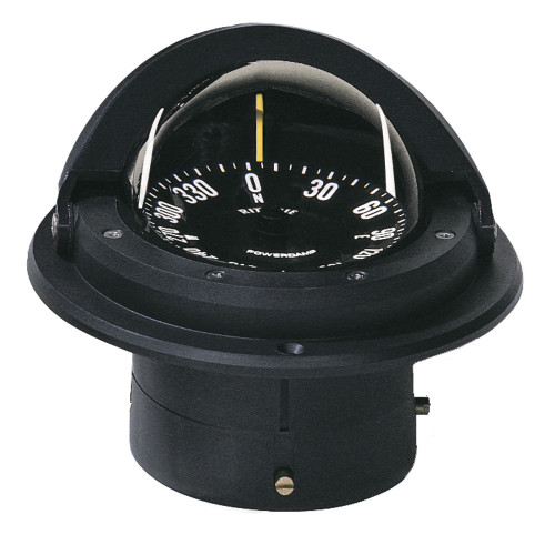 Ritchie F-82W Voyager Compass - Flush Mount - Black
