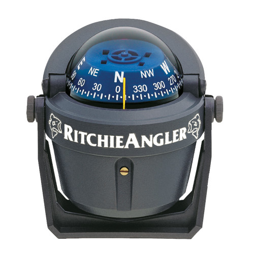 Ritchie RA-91 RitchieAngler Compass - Bracket Mount - Gray