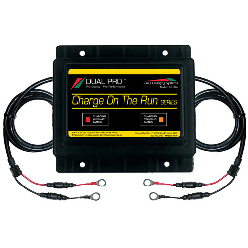 Dual Pro Charge-On-The-Run Series - 15A - 1-Bank - 12V