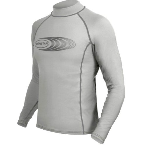 Ronstan Long Sleeve Rash Guard Top - UPF50+ - Ice Grey -XL/Small/Med/Large/XS