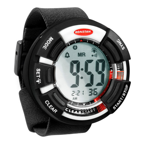 "Ronstan Clear Start™ Race Timer - 65mm (2-9/16"") - Black/White"