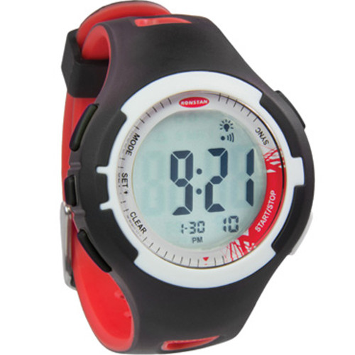 """Ronstan Clear Start™ Sailing Watch - 40mm (1-9/16"""") - Red/Black"""