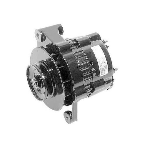 55 Amp Mando Alternator (Black), Mercury - Mercruiser 817119A-4