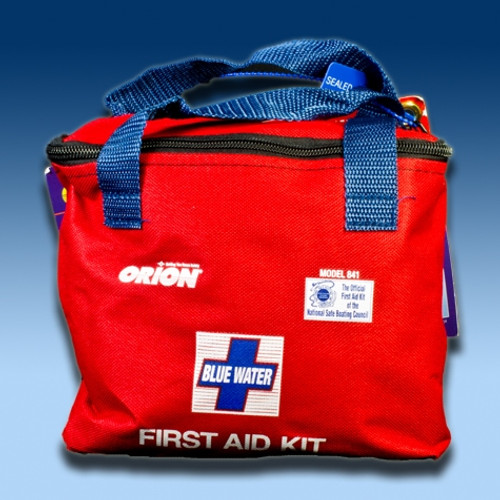 BLUE WATER FIRST AID KIT Item # 841