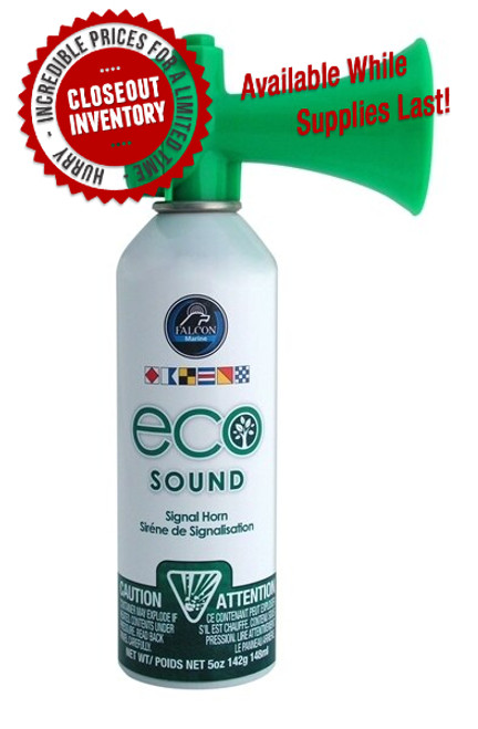 Eco Sound Signal Horn 5oz