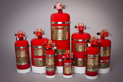FIREBOY-XINTEX MA2 Manual/Auto Clean Agent Fire Extinguishers