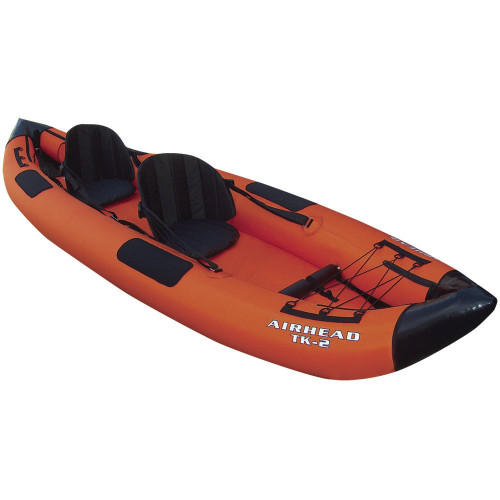 AIRHEAD Montana Travel Kayak Deluxe 12' 2 Person Inflatable Kayak