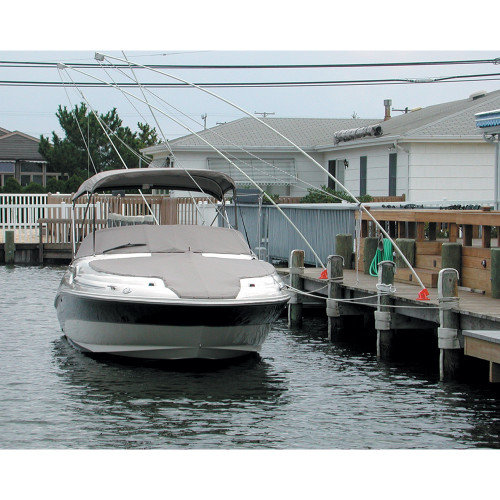 Monarch Nor'Easter 2 Piece Mooring Whips f/Boats up to 36'