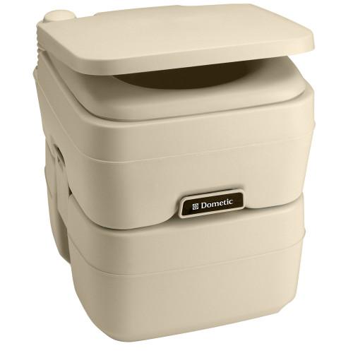 Dometic - 965 MSD Portable Toilet 5.0 Gallon (Parchment or Platinum)