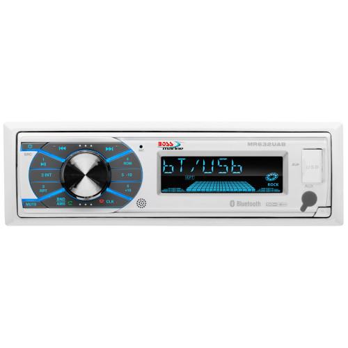 Boss Audio MR632UAB Single-DIN MECH-LESS Multimedia Player USB/SD/MP3/WMA/AM/FM (no CD/DVD) w/ Bluetooth