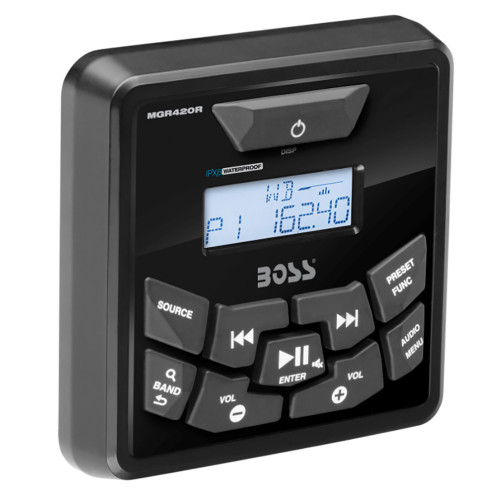 Boss Audio MGR420R Bluetooth Remote Control f/MGR450B