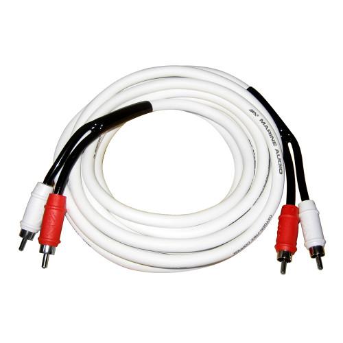 Marine Audio Marine Grade RCA Cable - 19'(6M)