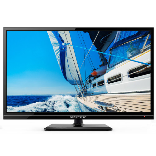 """Majestic 19"""" LED 12V HD TV w/Built-In Global Tuners - 1x HDMI"""