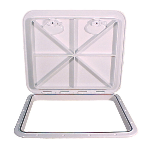 "Beckson 18x21"" Flush Hatch Horizontal or Vertical - White"
