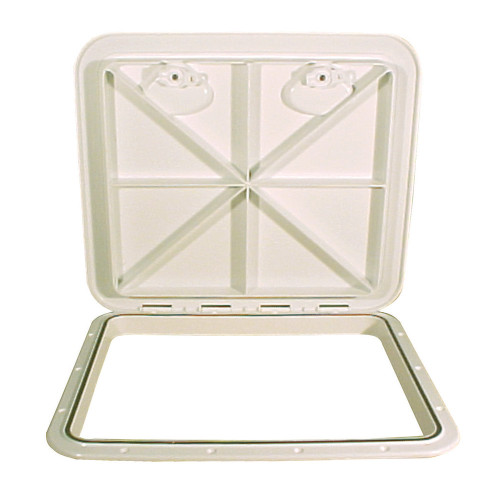 "Beckson 18x21"" Flush Hatch Horizontal or Vertical - Beige"