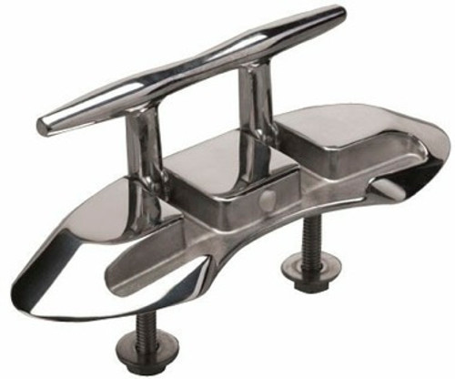 """Sea Dog 6 """" (Inch) Cleat Folding Stud Mounted Stainless"""