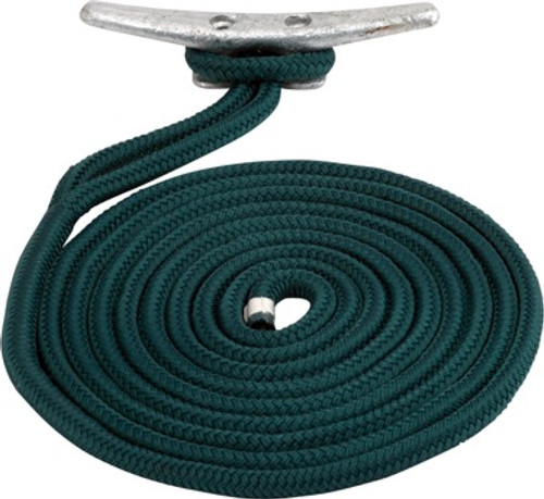 Sea Dog Double Braid Nylon Dock Line- Variety Of Colors & Sizes Available